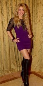 Shakira staand Pique