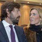Deborah Roversi en Valentina Baldini, de liefdes van Andrea Pirlo