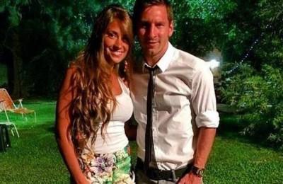 Antonella Roccuzzo vriendin Lionel Messi