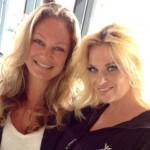 Eva Hoeke, vriendin van Vitesse-watcher Marcel van Roosmalen