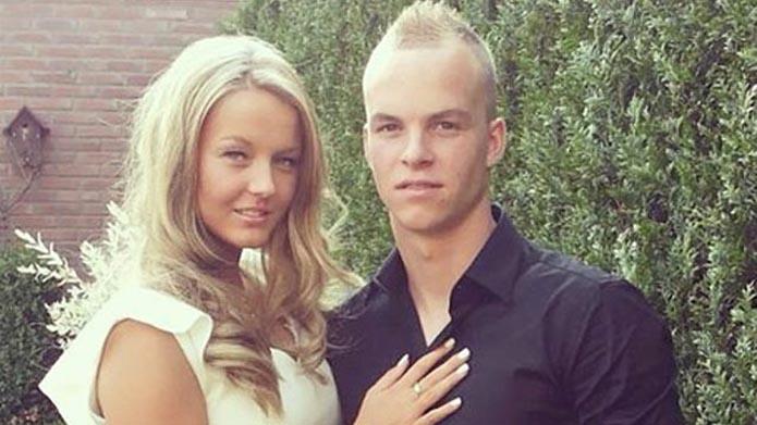 Jolisa Janssen vriendin van Jorrit Hendrix