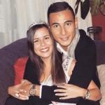 Melanie Gallardo Robles, vriendin van Anwar El Ghazi