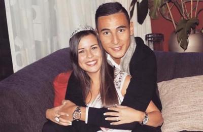 Melanie Gallardo Robles vriendin van Anwar El Ghazi