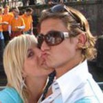 Nathalie van den Boogaard, vriendin van Paul Verhaegh