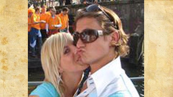 Paul Verhaegh with beautiful, Girlfriend Nathalie van den Boogaard