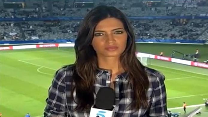 Sara Carbonero de vriendin Iker Casillas