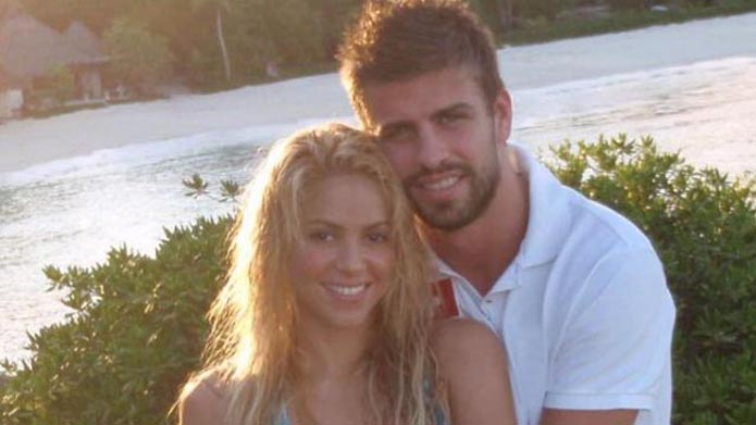 Shakira vriendin van Gerard Pique Milan
