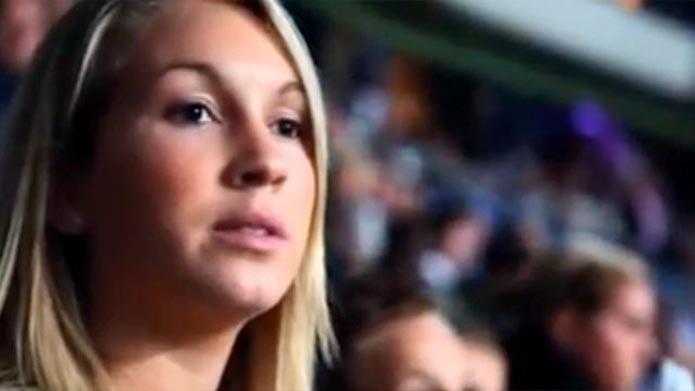 Sofia Balbi de vriendin van Luis Suarez