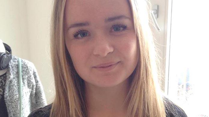 Thea Bundgaard Christensen de vriendin van Lucas Andersen Ajax