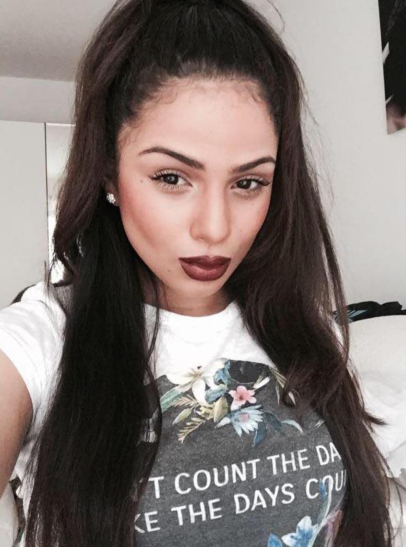 Celine Gomez vriendin van Jairo Riedewald (2)