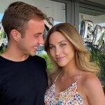 Ann-Kathrin Götze de vriendin en vrouw van Mario Götze