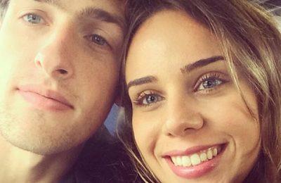 Melina Botteghin vriendin Eric Botteghin