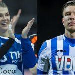 Bloeit er iets tussen handbalbabe TESS WESTER en voetballer MART LIEDER?