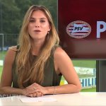 Maddy Janssen presentatrice PSV TV