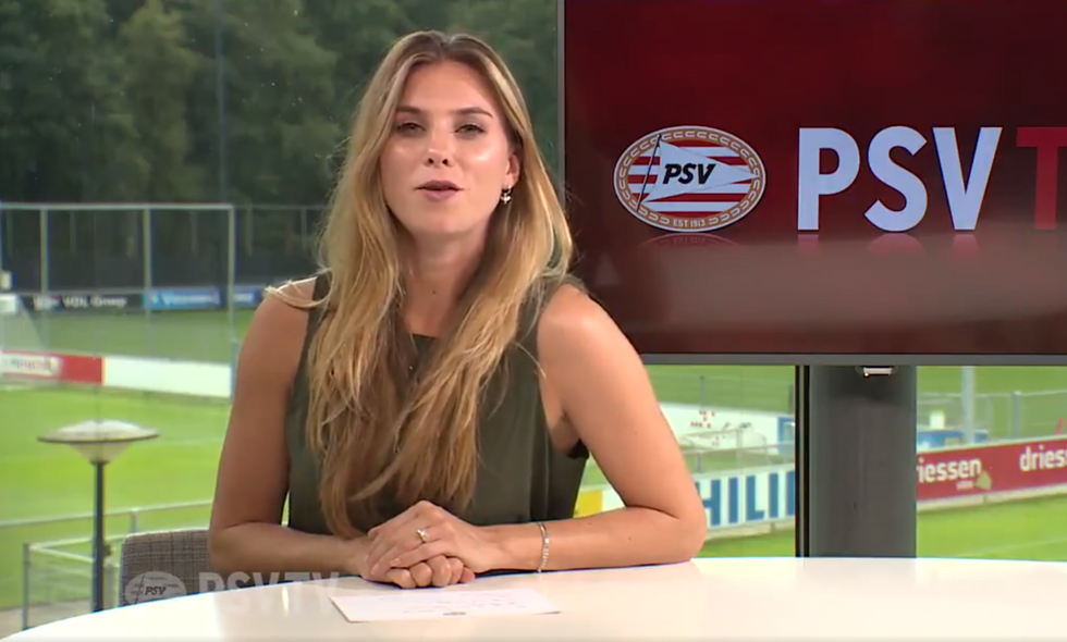 Maddy-Janssen-presentatrice-PSV-TV