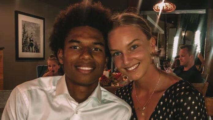 Beau de Boer vriendin Calvin Stengs