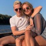 Estelle Bergkamp de vriendin van Donny van de Beek