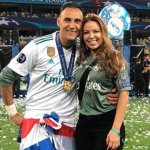 Andrea Salas vrouw van Keylor Navas