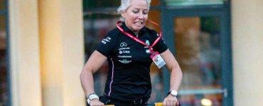 Angela Cullen personal trainer Lewis Hamilton