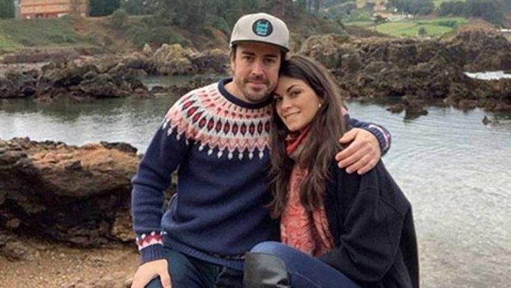 Linda Morselli vriendin Fernando Alonso