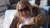 Bernadien Eillert, de vrouw van Arjen Robben
